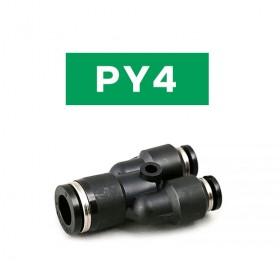 PISCO PY4氣管接頭 Y型 4