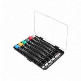 Pro'sKit 6PCS 星型精密起子組(彩盒裝) SD-3502