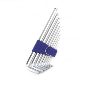 EIGHT白金超長型六角板手 1.5 -10 mm (9支/組) BHS-9