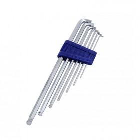 EIGHT特短球型六角板手1.5-6mm (7支/組) TTS-7