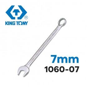 KING TONY梅開扳手 7mm 1060-07
