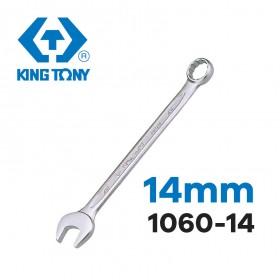 KING TONY梅開扳手 14mm 1060-14