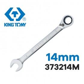 KING TONY 左右梅開棘輪板手 14mm