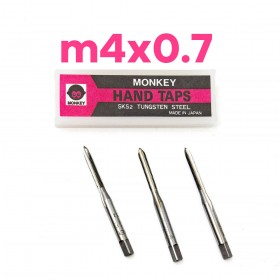 猴印手絞絲攻 m4x0.7 (3支/組)