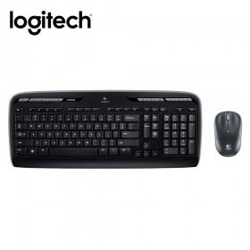 羅技logitech 無線鍵盤滑鼠組 MK330