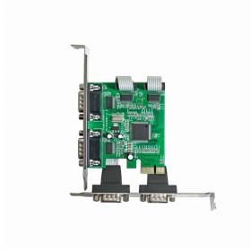 伽利略 PCI-E RS-232 4Port 擴充卡 PETR04A