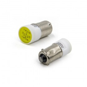 BA9S LED燈 220V- 黃色
