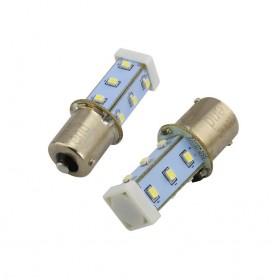 BA15S LED指示燈泡(AC/DC24V) 10W 白色 O50mm S15-L57W
