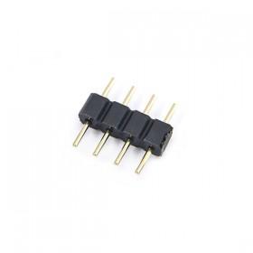 LED 免焊快拆式連接器4Pin 公-公(5PCS)
