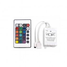 RGB 5050/5630 七彩24鍵 調光遙控器(共陽)6A
