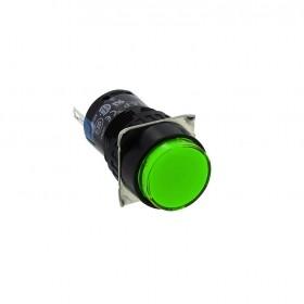 AL6M-P3PG 和泉16/圓形指示燈LED 12V綠色