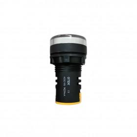 110V 22mm GTEK 平頭指示燈 白色
