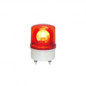 TWFB-08L9R 80mm 12V紅色閃光型LED警示燈(接線型有蜂鳴器)