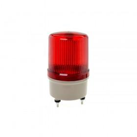 天得 LED旋轉型警示燈+蜂鳴器(端子台) 80MM 220V 紅色