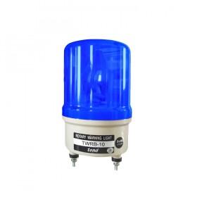 天得 LED旋轉型警示燈+蜂鳴器(端子台) 100MM 110V 藍色
