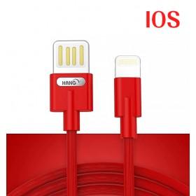 HANG R36 IOS 雙面插快充線-紅