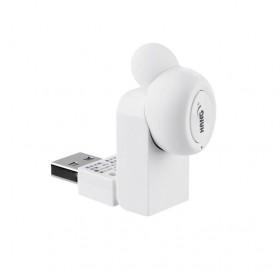 HANG W2 磁吸直充藍芽耳機-白