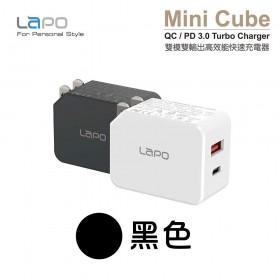 Lapo WT-820QD 電源供應器 PD/QC3.0 黑色