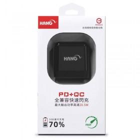 HANG C12A PD+QC 閃充頭 黑色