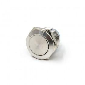 19mm不鏽鋼金屬平面無段開關(焊線式)