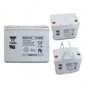 湯淺 YUASA REC80-12 高性能密閉閥調式鉛酸電池~12V80Ah