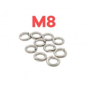 白鐵彈簧華司 M8 (10pcs/包)