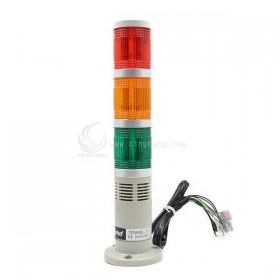 TPWS5-L73ROG 天得50盤式閃光燈+蜂鳴器 24V LED紅/橙/綠