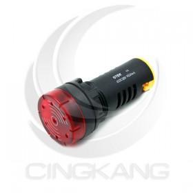 GTEK 22φ閃光蜂鳴器 AC220V 紅