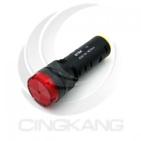 GTEK 16φ閃光蜂鳴器 AC110V紅