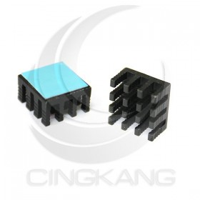 3M-8810 導熱片 散熱片(黑) 14x14x8mm