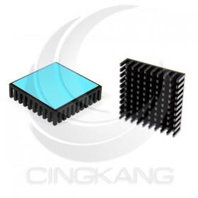 3M-8810 導熱片 散熱片(黑) 40x40x10mm