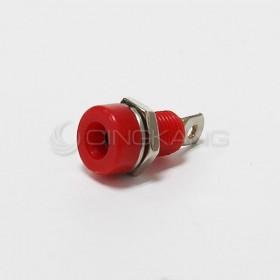 香蕉插座(大) 4MM-紅色