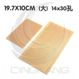 電木萬用板 大圓點 19.7X10CM 14x30孔