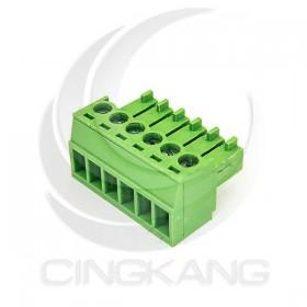 PCB 3.5-6P 端子台(母) 8A 300VAC (2入)