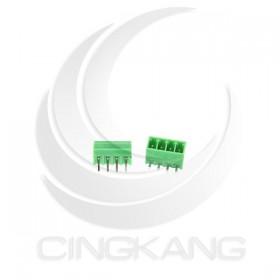 PCB 3.5-4P 端子台(公) 8A 300VAC 90度 (2入)