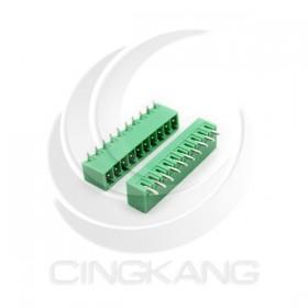PCB 3.5-10P 端子台(公) 8A 300VAC 90度 (2入)