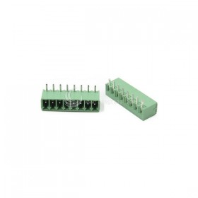 PCB 3.5-8P 端子台(公) 8A 300VAC 90度 (2入)