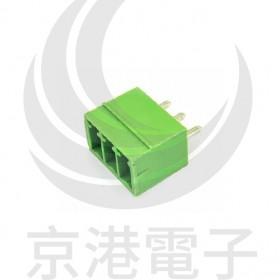 PCB 3.5-6P 端子台(公) 8A 300VAC 180度 (2入)