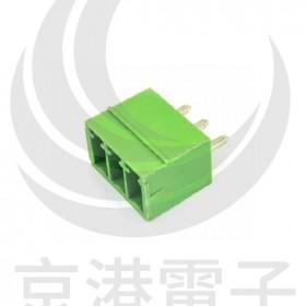 PCB3.5-3P端子台 公180度(2入)