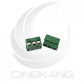 迷你型端子台-3P 10A 300VAC 腳距5.0 AC孔徑16~22AWG(2入)