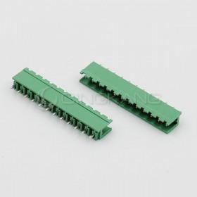 直針接線端子KF2EDGK-12P/5.08MM/300V15A 公頭 (2入)