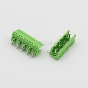 HT5.08-5P/5.08MM 接線端子公頭-彎針 (2入)