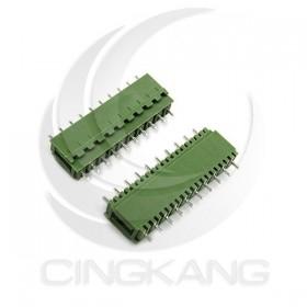 PCB5.08-10P 接線端子 公180度 (2入)