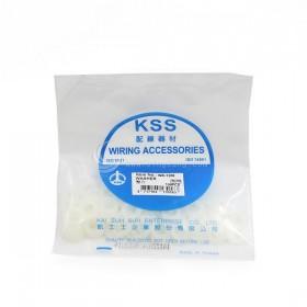 KSS墊片 WR-1206 NYLON直徑12mm 內徑6.4mm(100入/包)