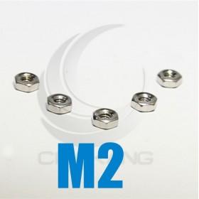 白鐵螺母 M2