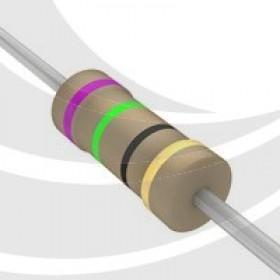 碳膜電阻 1/4W 75Ω ±5%