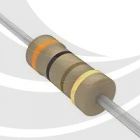 碳膜電阻 1/4W 300Ω ±5%