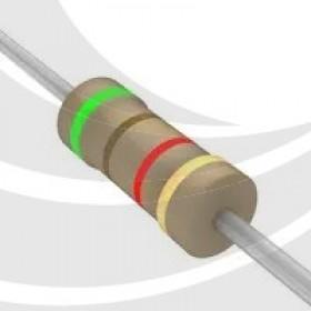 碳膜電阻 1/4W 5.1K ±5%