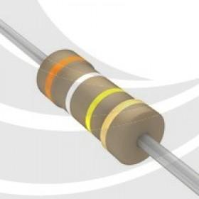 碳膜電阻 1/4W 390K ±5%