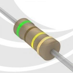 碳膜電阻 1/4W 510K ±5%